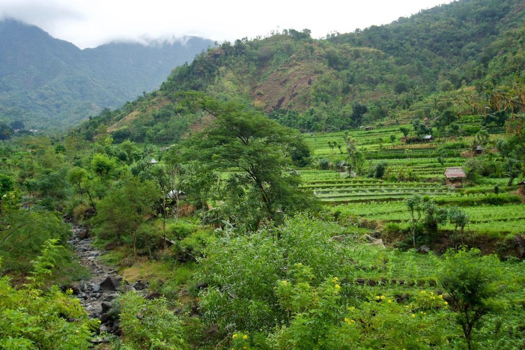 Bali Reiseroute