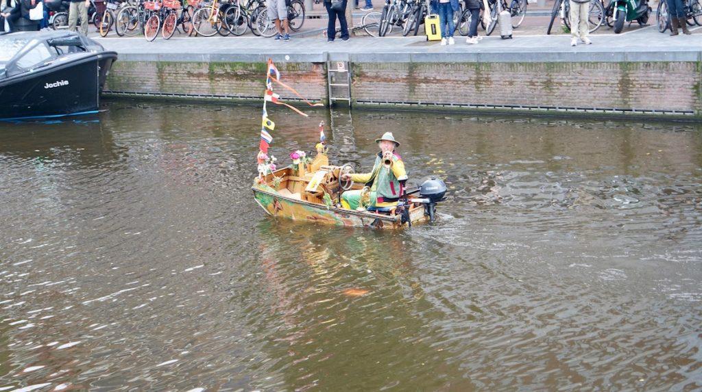 Amsterdam Reisetipps Boot