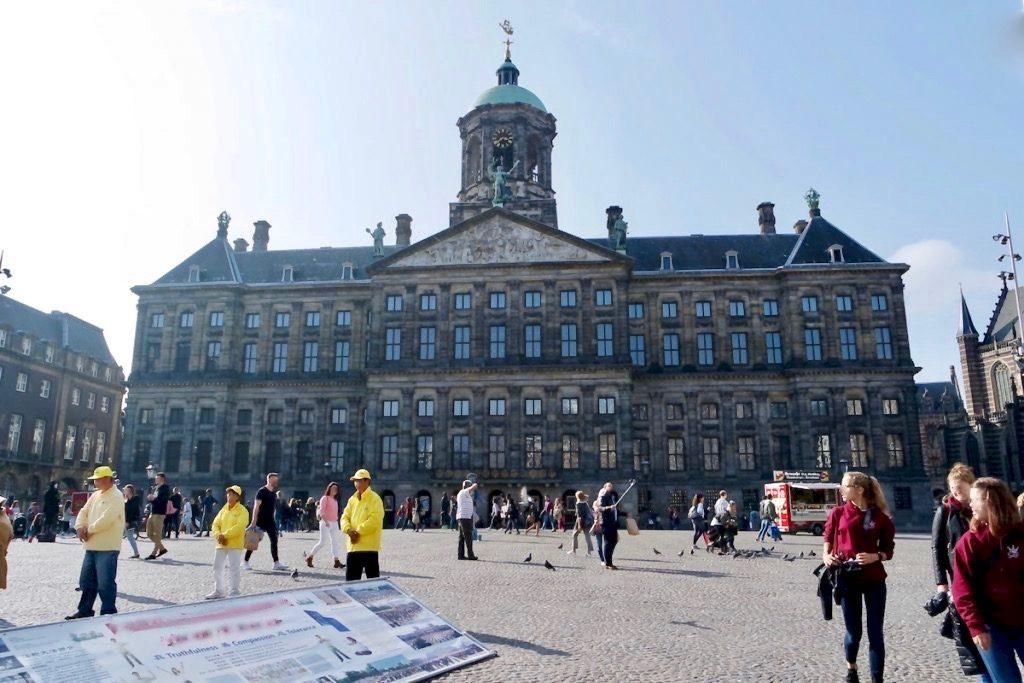 Amsterdam Reisetipps Koninklijk Paleis