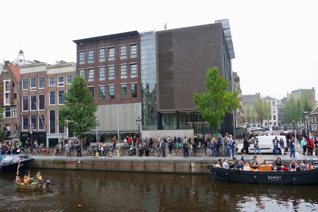 Amsterdam Sehenswürdigkeiten Anne Frank Haus