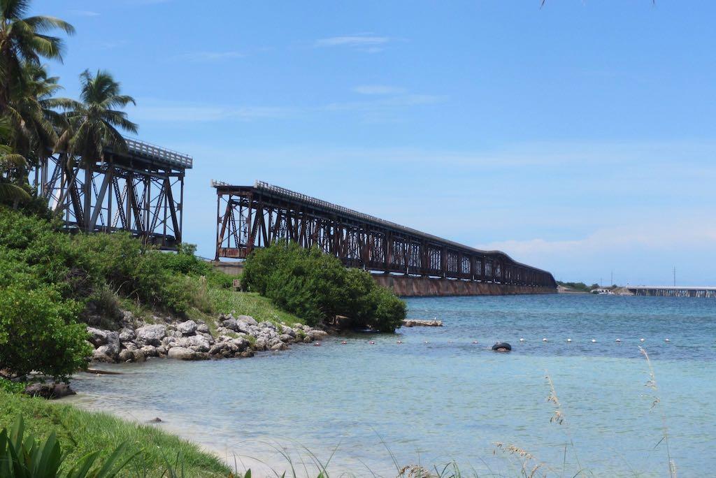 Florida Keys Sehenswürdigkeiten Bahia Honda State Park Key West Brücke